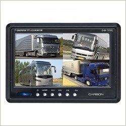 "CHM-7200Q  7"" DASH BOARD QUAD VIEW MONITOR"