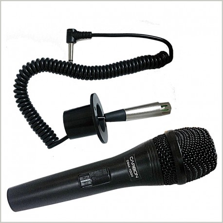 Spiral Cable Dynamic Microphone